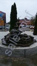 Фонтан из бетона Каскад