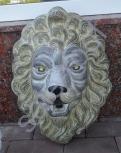 Фонтан из бетона Маска Льва (Стоимость :+20% к цене)