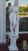 Скульптура из бетона Ева