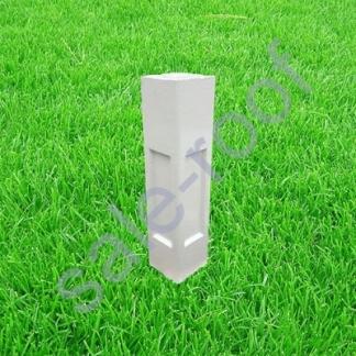 Декоративный элемент столб бетонный 20*20*105 см.