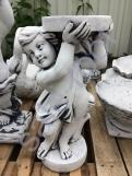 """скульптура из бетона """"Ангел подеум"""""""