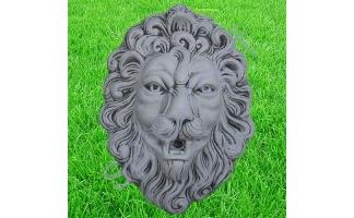 Скульптура из бетона маска Льва