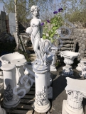 "Подиум С125/Скульптура ""Девушка с вазой"""