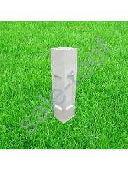Декоративный элемент столб бетонный 20*20*80 см.