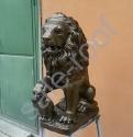 Скульптура из бетона Лев Бронза стоимость +30% к цене